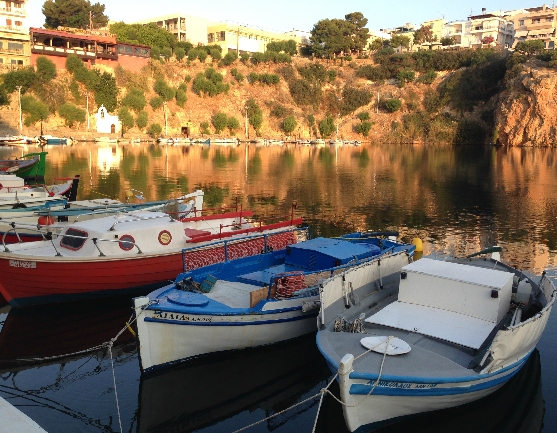 Lake at Agios Nikolaos