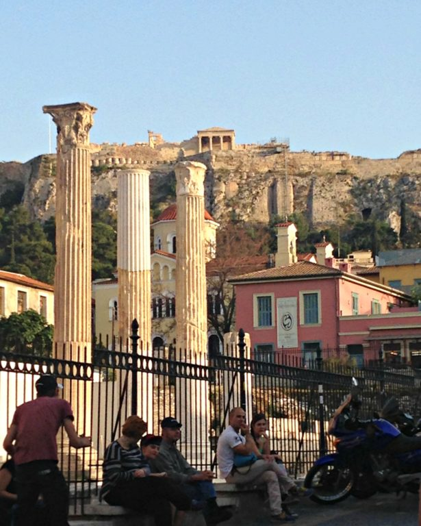 The Acropolis from the Plaka District Photo by Francesca Muir