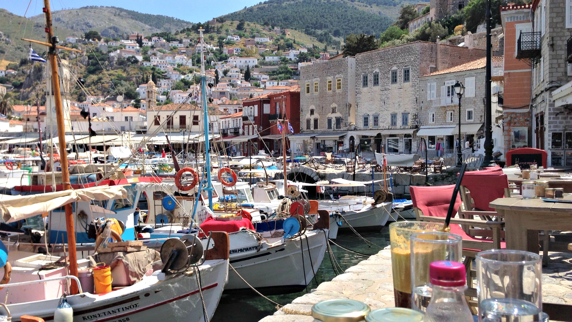 The Port of Hydra Photo by Francesca Muir